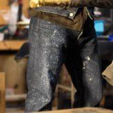 Staff's BLUESAKURA Jeans. 401XXX VINTAGE NERD LOW BS-DP01