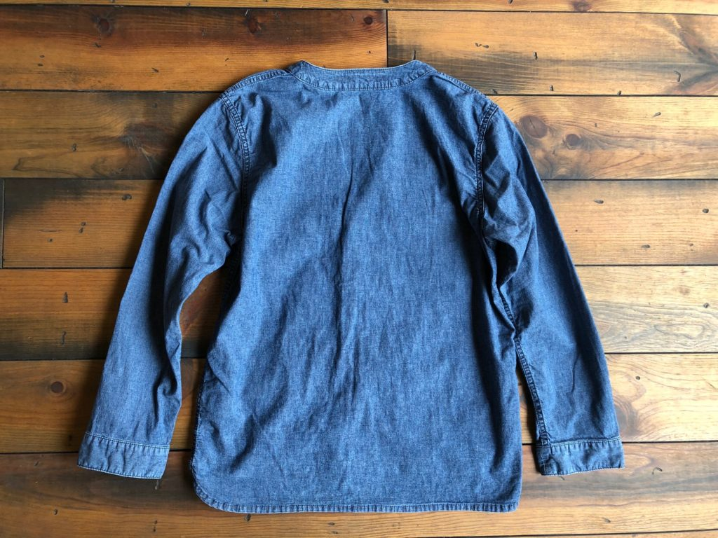 NEW ARRIVAL – CHAMBRAY CARDIGAN pocket