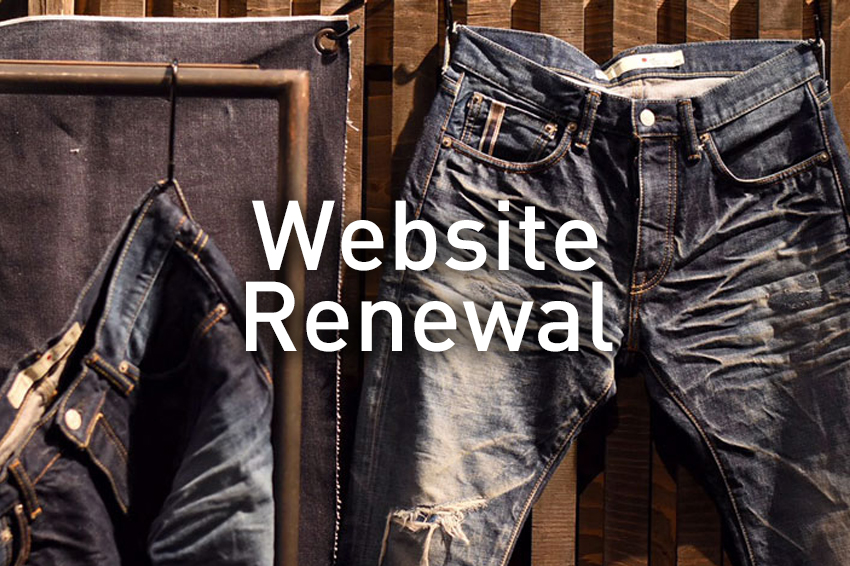 Renewal; Blue Sakura website!