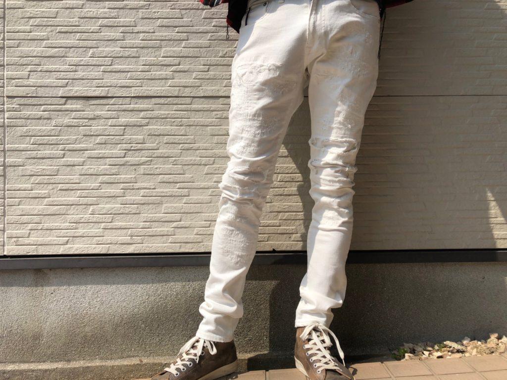 RESTOCK 404XXB BONE WHITE USED