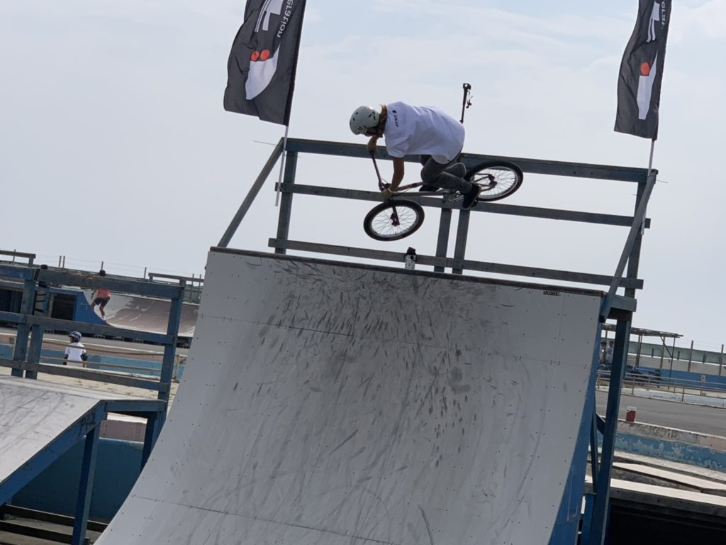 BMX FREESTYLE in kugenuma